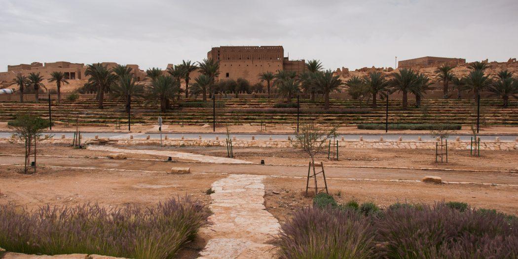 Old At-Turaif district near Ad Diriyah Saudi Arabia.
